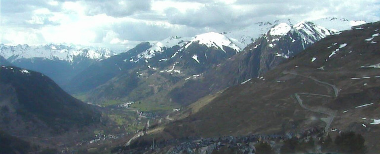 A little snowy in the Val d'Aran…