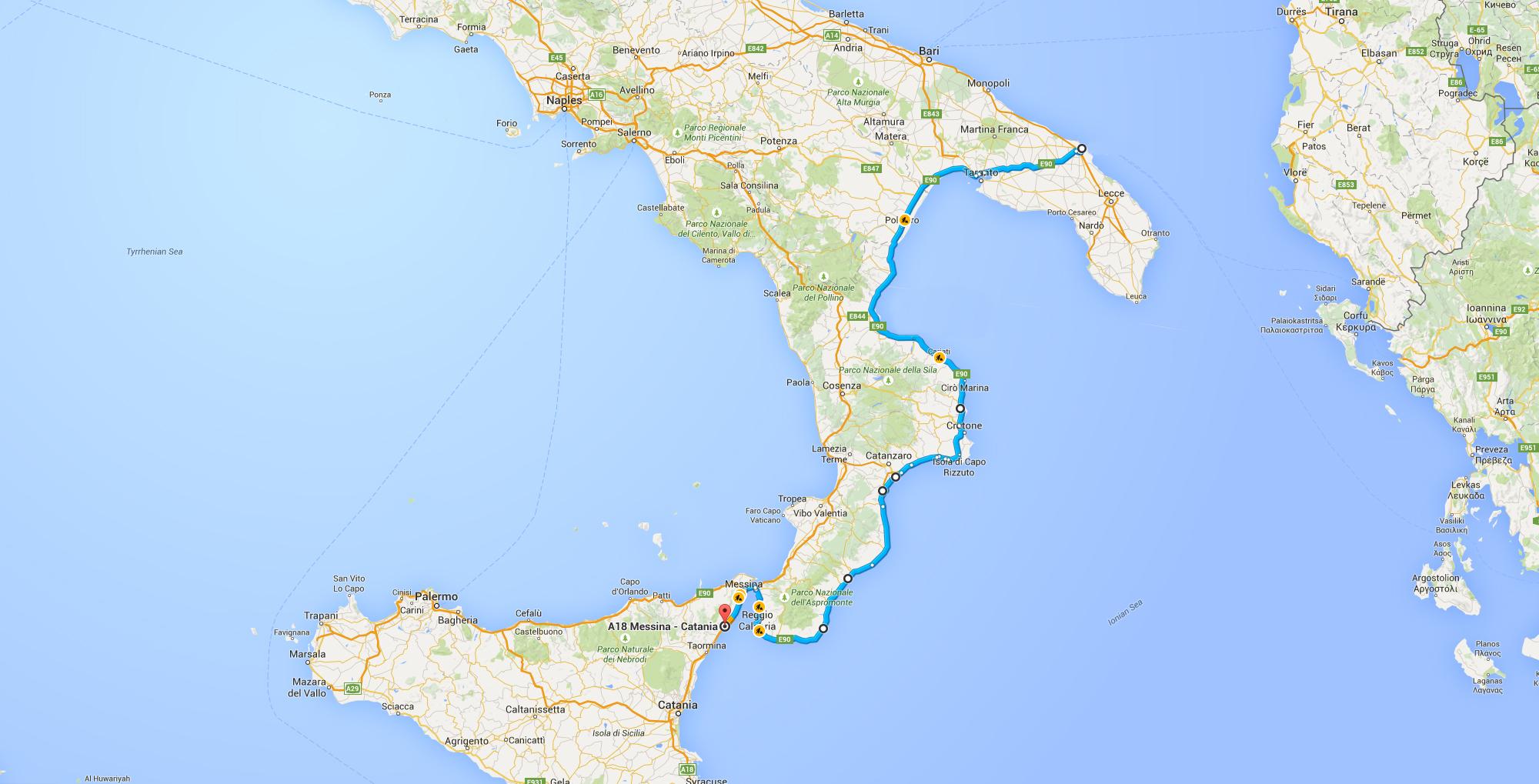 Brindisi-Map