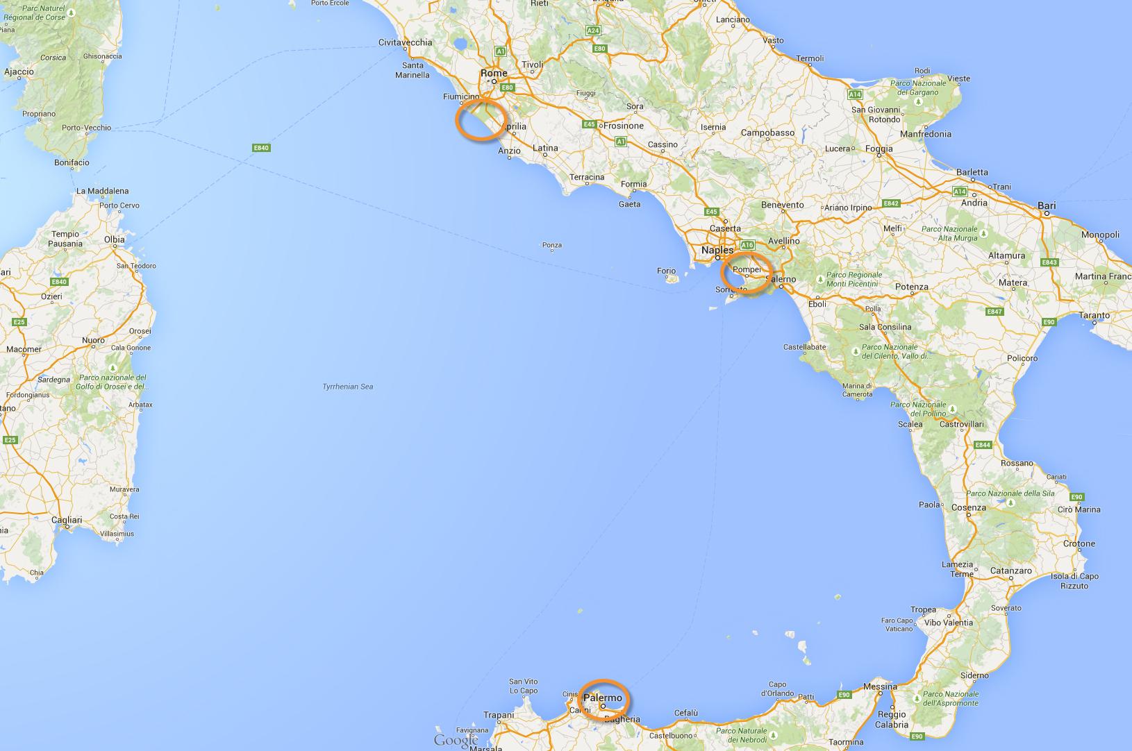 Map-Napoli