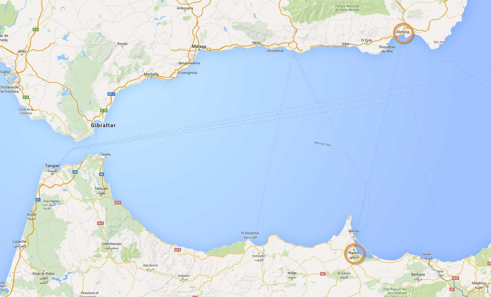 Maroc-Map