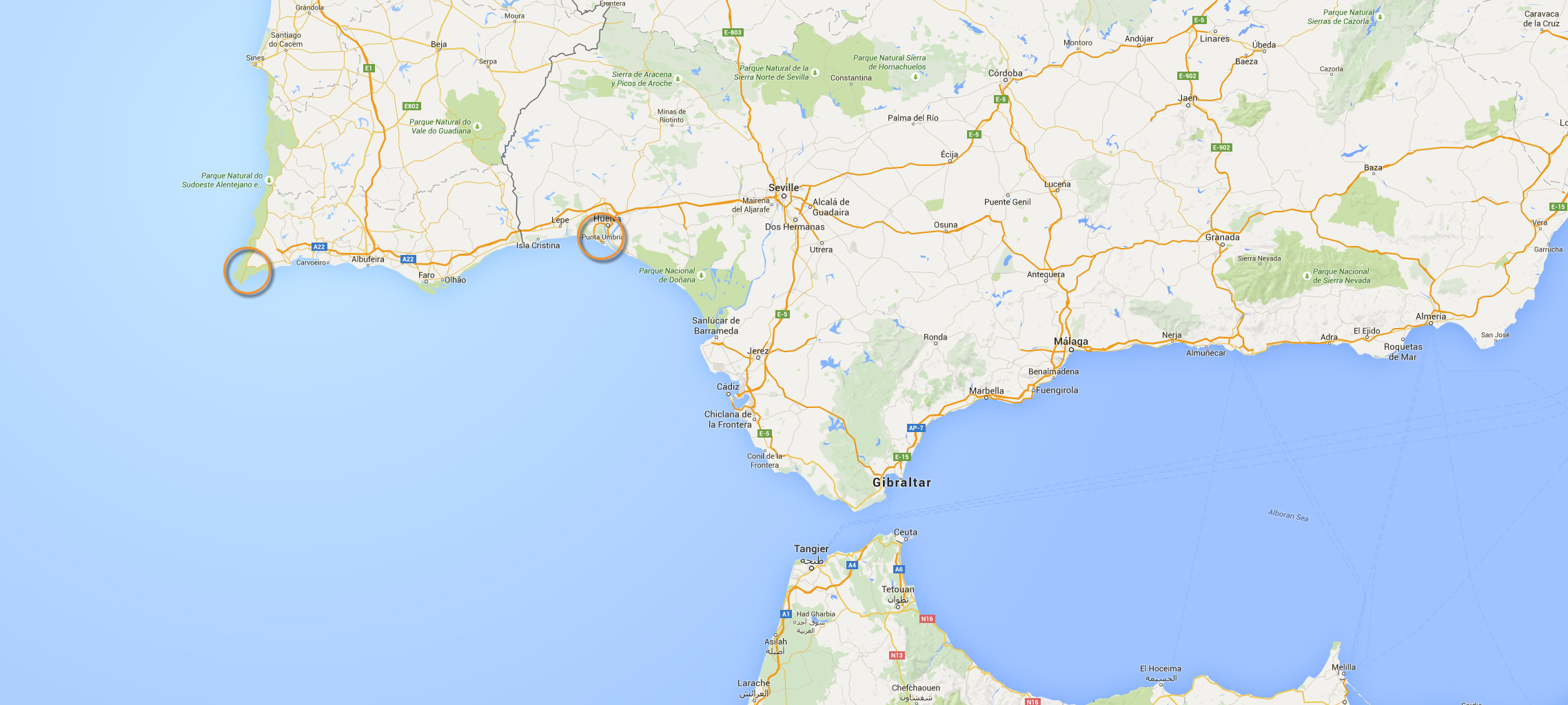 Sagres-Map